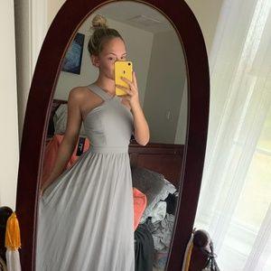 grey lulu's gown